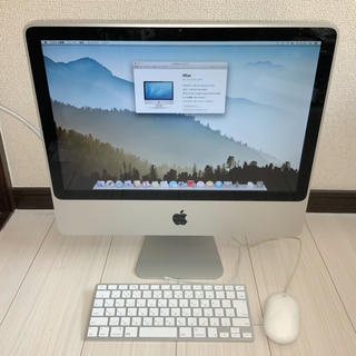 Apple - 定価12万8800円 美品高性能Apple iMac 20inchすぐに使えます