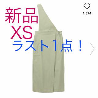 GU - 新品 サス付きナローミディスカート