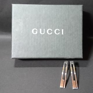 グッチ(Gucci)のGUCCI シルバーピアス(ピアス)