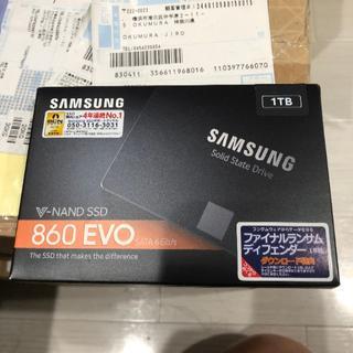 サムスン(SAMSUNG)の新品未開封PS4用SSD 1TB 5年保証(その他)