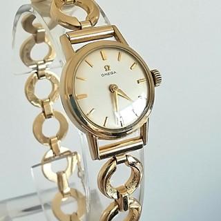 OMEGA - 綺麗 オメガ 金張り アンティーク レディースウォッチ 時計 新品 ブレス 美品