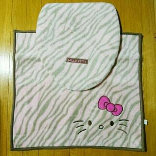 サンリオ(サンリオ)の新品 キティ サンリオ Kitty トイレセット 2点セット ハローキティ 猫(トイレマット)