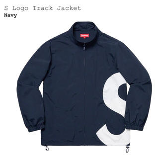 Supreme - supreme s logo track jacket M navy