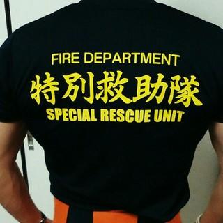 カワサキ - 特価【新品・未使用】消防士Tシャツ カットソー Mサイズ