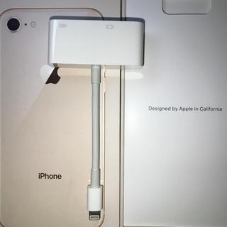 アップル(Apple)のLightning VGAアダプター(映像用ケーブル)