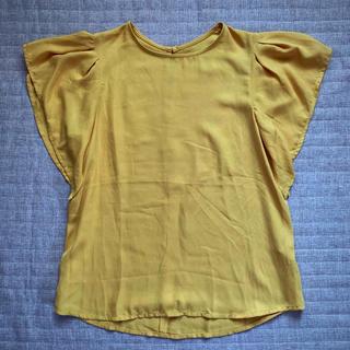 ジーユー(GU)の美品❣️ GU ブラウス(シャツ/ブラウス(半袖/袖なし))