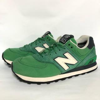 ニューバランス(New Balance)のR210 ★ 28cm★ニューバランスML574PCG グリーン緑色(スニーカー)