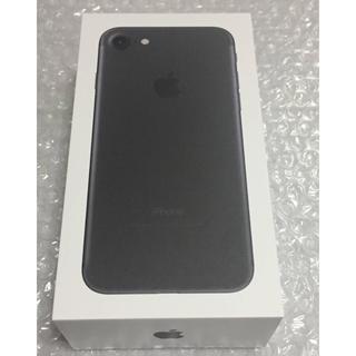 iPhone - 新品 未使用 Apple iPhone7 32GB Black simフリー