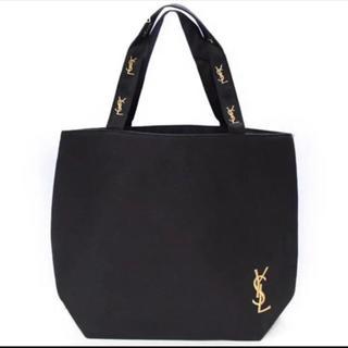 Yves Saint Laurent Beaute - 【新品未使用】yslロゴトートバッグ ノベルティ 金刺繍