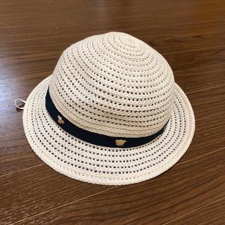 familiar - 美品 familiar 麦わら帽子