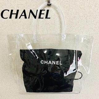 CHANEL - クリアバッグ付き♡CHANEL シャネル 巾着袋 保存袋 おまけ付き