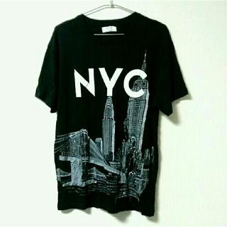 ZARA - 新品 おしゃれ モード グラフィックデザイン Tシャツ トップス 半袖 NYC