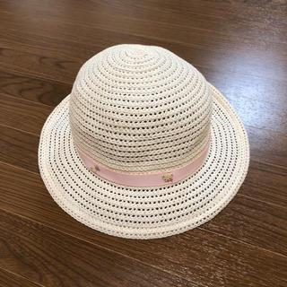 ファミリア(familiar)の美品 familiar 麦わら帽子(帽子)