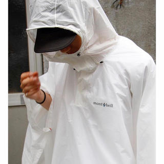 mont bell - mont-bell モンベル レインウェア ポンチョ カッパ 雨具 梅雨