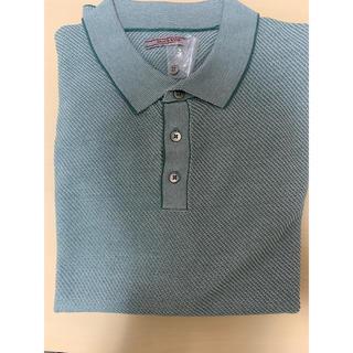 ジャガード ニットポロ(ポロシャツ)