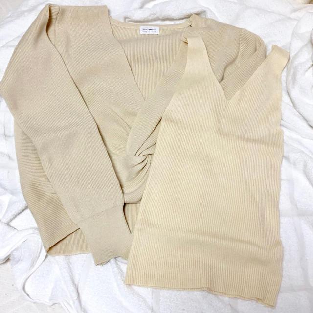 dholic(ディーホリック)のdholic ニット レディースのトップス(ニット/セーター)の商品写真