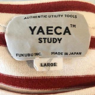 YAECA - YAECA STUDY ボーダーバスクシャツ
