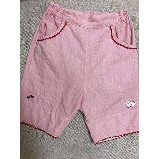 familiar - ファミリア  ショートパンツ ズボン 100 ピンク 子ども服