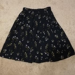 シマムラ(しまむら)のHKWORKSLONDON 花柄スカート(ひざ丈スカート)