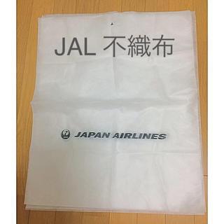 ジャル(ニホンコウクウ)(JAL(日本航空))のJAL 不織布の袋 バッグカバー  新品(日用品/生活雑貨)