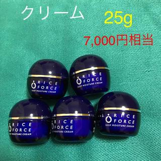 ライスフォース - ライスフォース  ディープモイスチュア クリーム 薬用保湿クリーム 5個