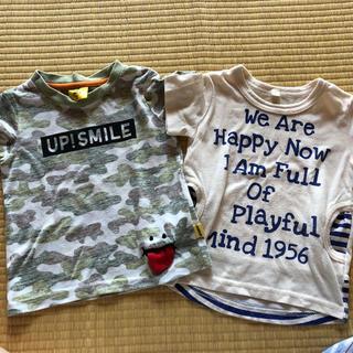 ニシマツヤ(西松屋)の半そでTシャツ(90cm)(Tシャツ/カットソー)
