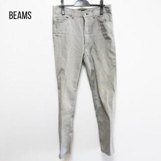 Demi-Luxe BEAMS - BEAMS(ビームス) パンツ サイズM レディース グレー 千鳥格子