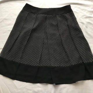シマムラ(しまむら)のスカート水玉(ひざ丈スカート)
