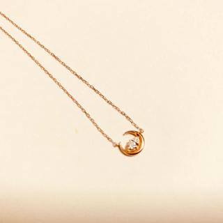 ヨンドシー(4℃)の4℃ ネックレス K10 ピンクゴールド (ネックレス)
