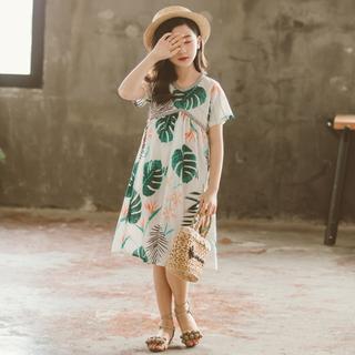 子供用 ワンピース 女の子 リゾート ビーチ サマードレス(ワンピース)