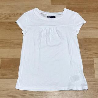 ギャップキッズ(GAP Kids)のGAP kids ギャップ キッズ Tシャツ Sサイズ(6-7) ホワイト(Tシャツ/カットソー)