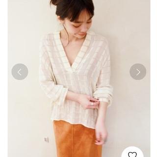 Plage - 【新品タグ付】Plage スキッパーシャツ