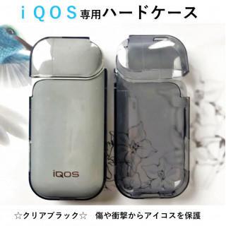 ☆セール☆ iQOS アイコスケース クリアケース ブラック(タバコグッズ)