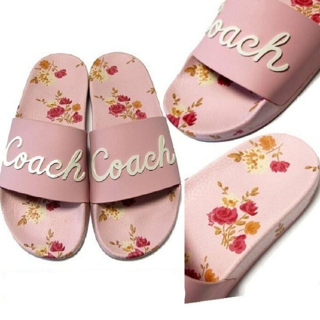 COACH(コーチ)の【COACH★FG3850】コーチ レディース サンダル 花柄♪ 新品タグ付き レディースの靴/シューズ(サンダル)の商品写真
