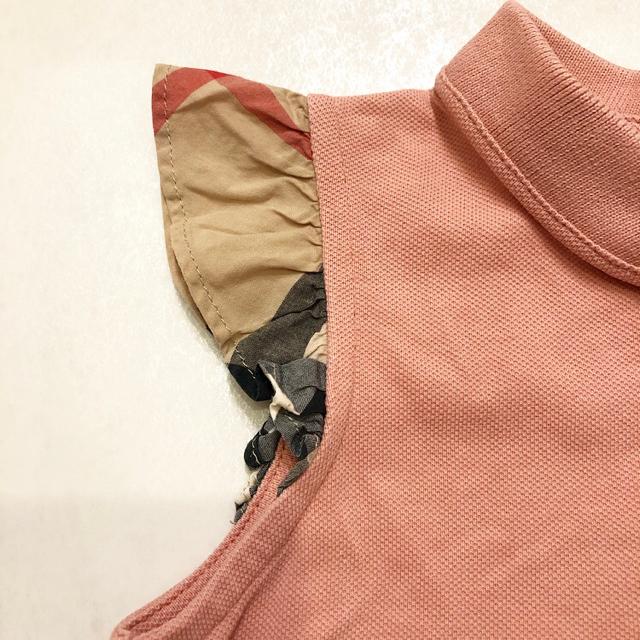 BURBERRY(バーバリー)のBurberryポロシャツ キッズ/ベビー/マタニティのキッズ服 女の子用(90cm~)(Tシャツ/カットソー)の商品写真