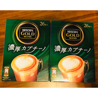 Nestle - ネスカフェ ゴールドブレンド 濃厚カプチーノ2箱セット
