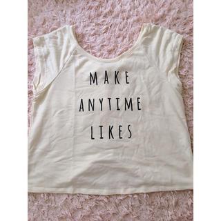 バイバイ(ByeBye)のByeBye♥バックリボンTシャツ(Tシャツ(半袖/袖なし))