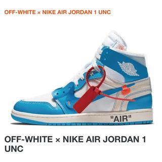 OFF-WHITE - サイズラスト The Ten オフホワイト Jordan 1 Off White