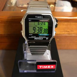 タイメックス(TIMEX)のTIMEX☆シルバー腕時計(腕時計)