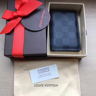 ルイヴィトン(LOUIS VUITTON)の【 ルイ ヴィトン 】 カードケース 美品(名刺入れ/定期入れ)