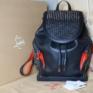 クリスチャンルブタン(Christian Louboutin)のクリスチャンルブタン  バックパック リュック ブラック 箱付き レザー 正規(バッグパック/リュック)
