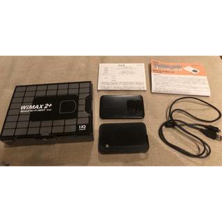 エヌイーシー(NEC)の値下げ!WiMAX 2+ Speed Wi-Fi NEXT WX02 ブラック(PC周辺機器)