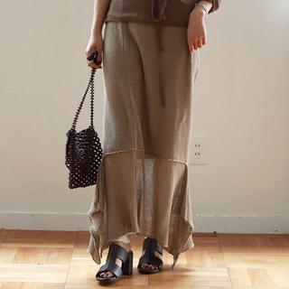 TODAYFUL - linen knit skirt リネンニットスカート todayful