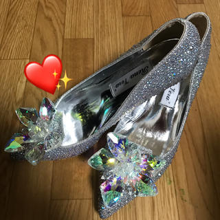 ジミーチュウ(JIMMY CHOO)のシンデレラ👑ジミーチュウ風ガラスの靴👠(ハイヒール/パンプス)