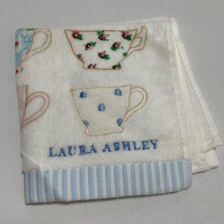 ローラアシュレイ(LAURA ASHLEY)の新品未使用 ローラアシュレイ ハンカチ ギフト包装 ショップ袋追加できます(ハンカチ)