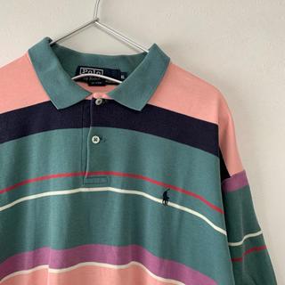 ラルフローレン(Ralph Lauren)の古着 90s  POLO Ralph Lauren  USA製 半袖ポロシャツ(ポロシャツ)