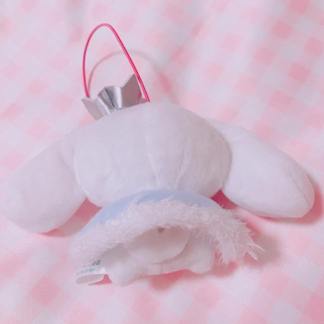 シナモロール(シナモロール)のシナモン マスコット エンタメ/ホビーのおもちゃ/ぬいぐるみ(ぬいぐるみ)の商品写真