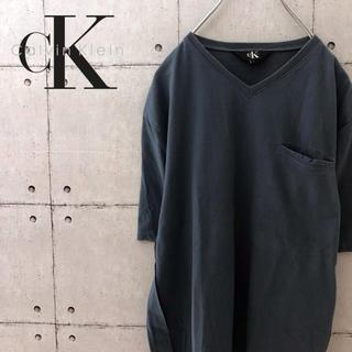 Calvin Klein - カルバンクライン ポケット シンプル Tシャツ