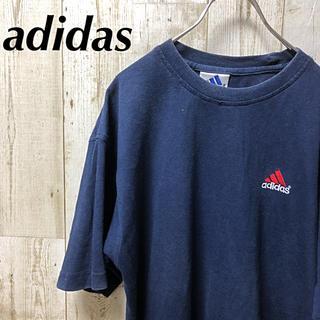 アディダス(adidas)の【激レア】adidas アディダス ワンポイント Tシャツ Lサイズ(Tシャツ/カットソー(半袖/袖なし))