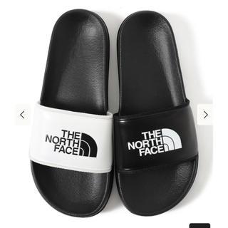 ザノースフェイス(THE NORTH FACE)の完売品!ノースフェイス ベースキャンプスライド 29cm 黒白 サンダル (サンダル)
